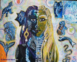Autoportrait de l'esprit - Myriadinspiration