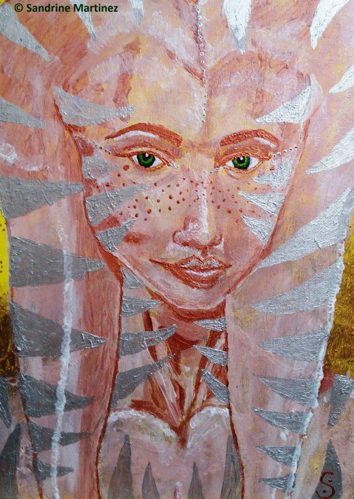masque caméléon - myriadinspiration