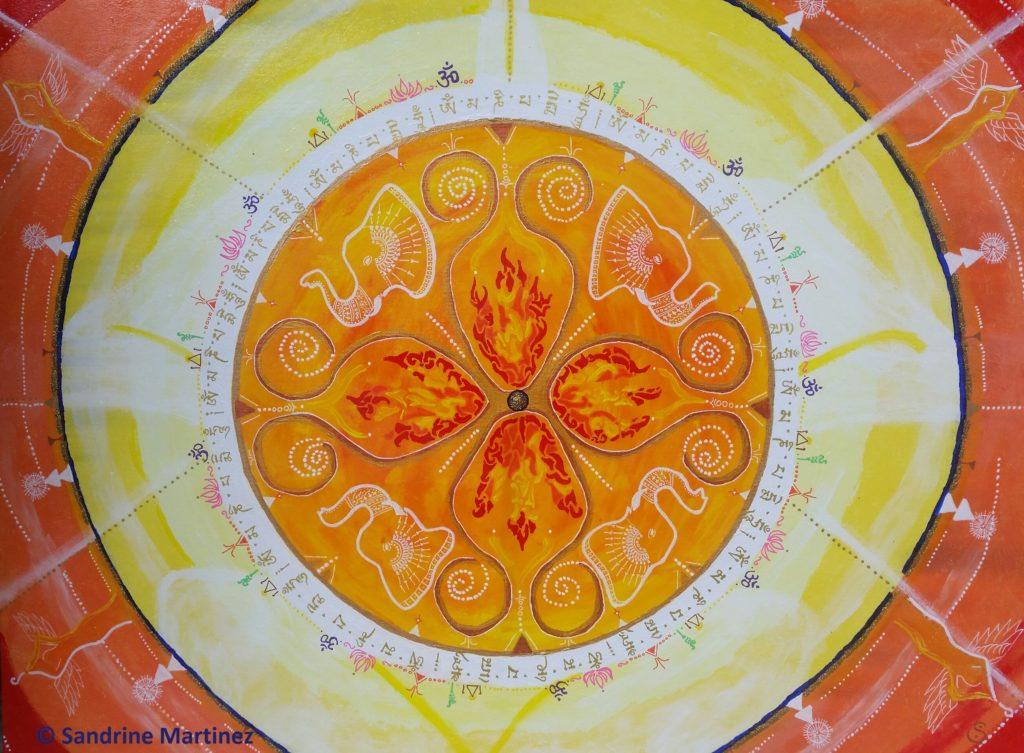 Thème : Protection, ouverture de cœur, chaleur et compassion